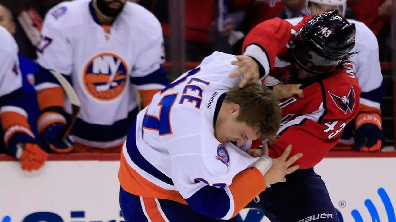 Anders Lee of the New York Islanders and
