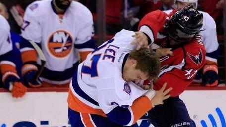 Anders Lee of the New York Islanders and