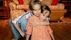 Twin brothers Sawyer Sweeten, left, and Sullivan Sweeten