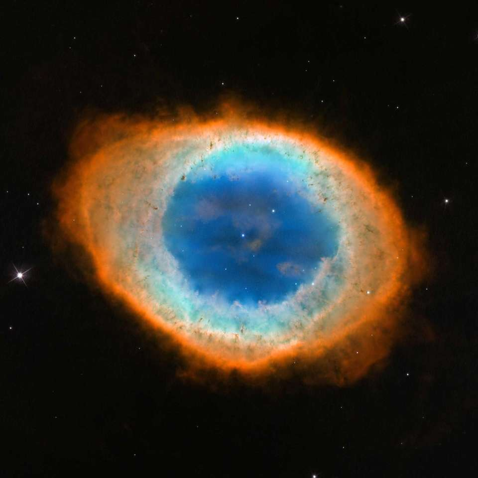 This image shows Messier 57, the Ring Nebula.