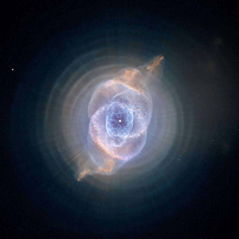 This image shows NGC 6543, the Cat's Eye