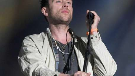 Damon Albarn of the band Blur performs onstage