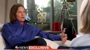 Bruce Jenner, in an interview with Diane Sawyer