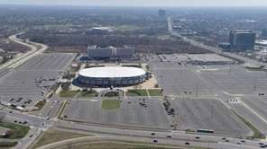 Nassau Veterans Memorial Coliseum is shown in this