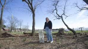 Amy Folk, a historian of the Oysterponds Historical