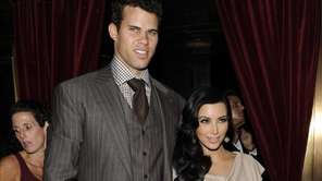 Kim Kardashian and Kris Humphries during happier times