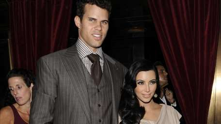 Kim Kardashian and Kris Humphries during happier times