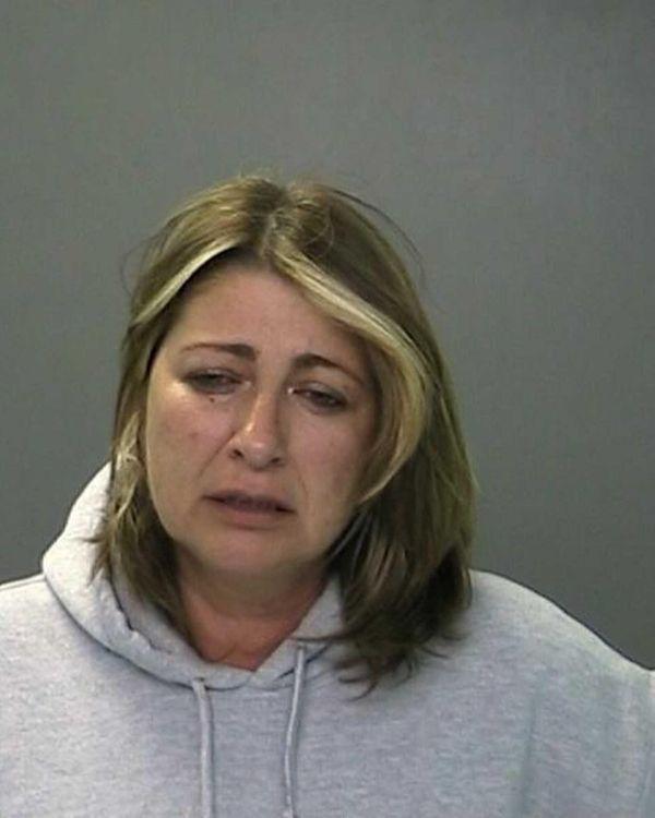 Leslie Rizos, 49, of West Babylon, was arrested