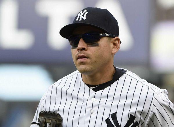 New York Yankees centerfielder Jacoby Ellsbury runs to