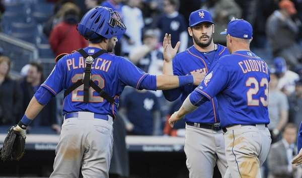 New York Mets catcher Kevin Plawecki, starting pitcher