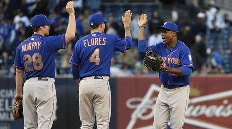 New York Mets second baseman Daniel Murphy, shortstop