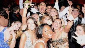 Farmingdale High School students and their dates celebrated