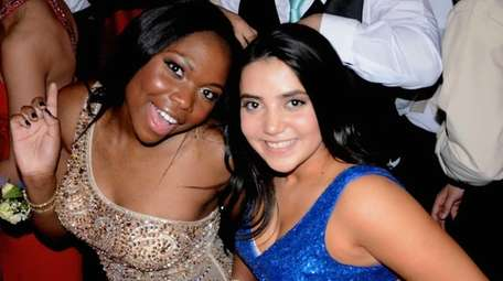 Farmingdale High School students celebrated on the dance