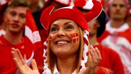 Denmark fell from its