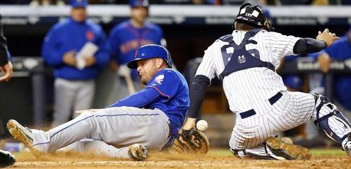 Lucas Duda #21 of the New York Mets