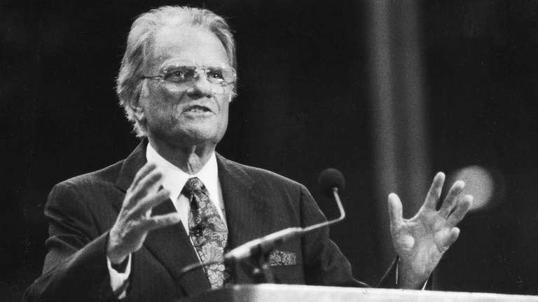 Billy Graham's five-day crusade at Nassau Coliseum in