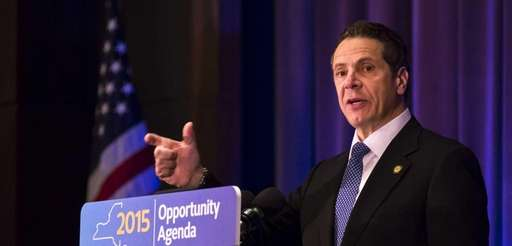 Gov. Andrew M. Cuomo Friday, April 24, 2015,