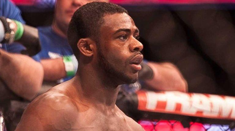 Aljamain Sterling, from Uniondale, submitted bantamweight Takeya Mizugaki