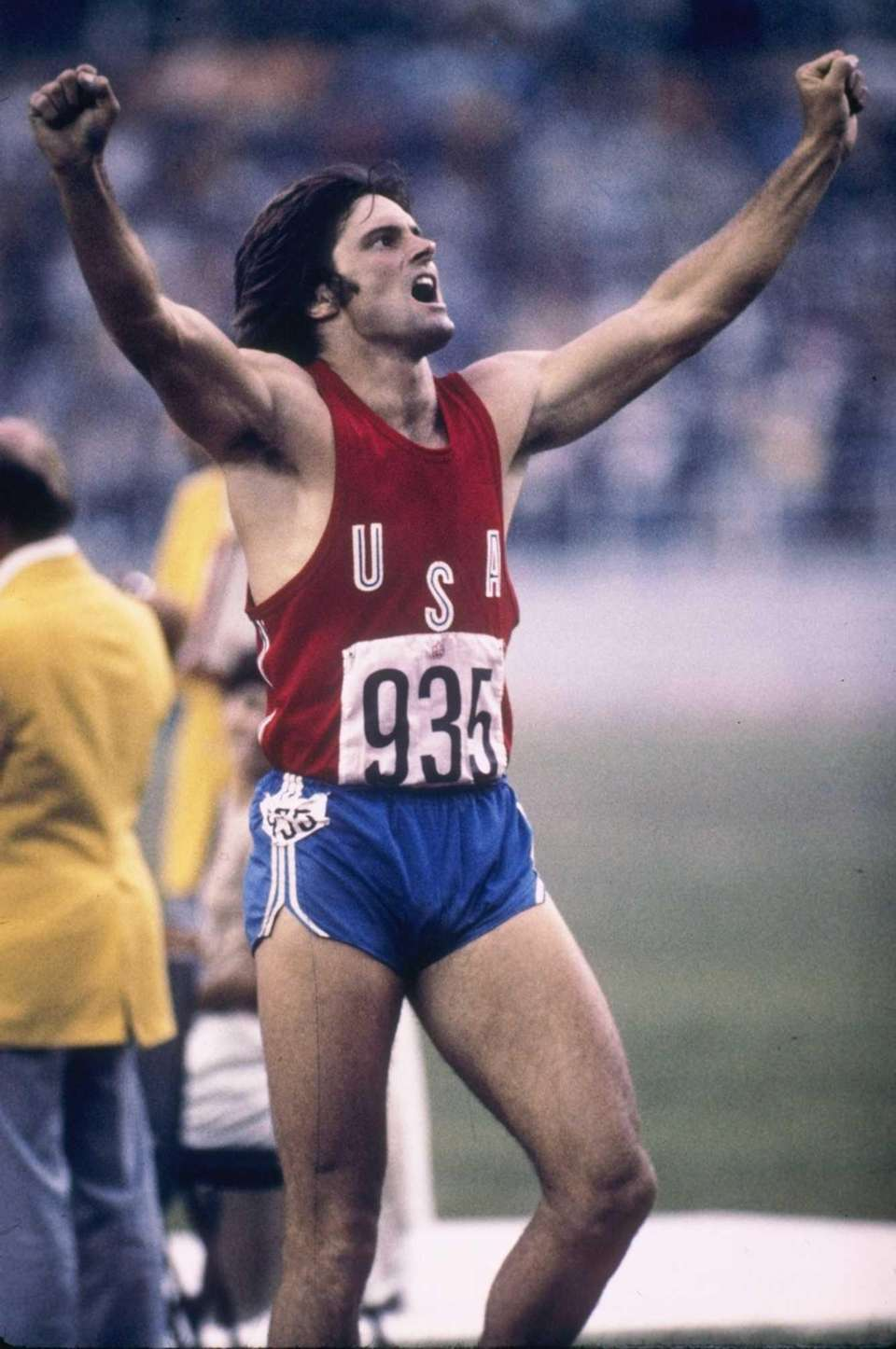Bruce Jenner, a native of Mount Kisco, N.Y.,