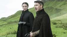 In this image released by HBO, Sophie Turner,