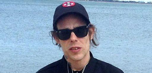 Self-professed KKK member Douglas Munker at a beach