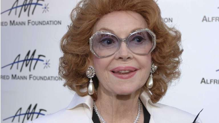 Actress and TV personality Jayne Meadows, seen in