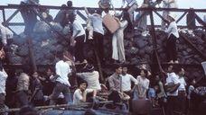 April 29, 1975. Desperate South Vietnamese clamber aboard