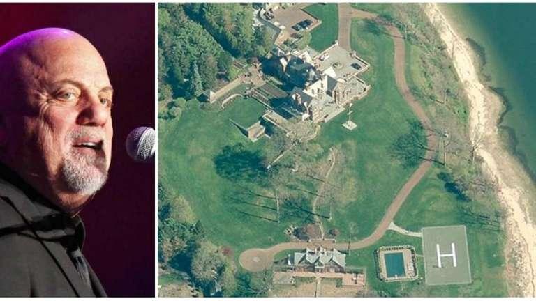 Billy Joel's Centre Island home has one of