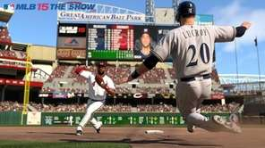 Screen grab from video game MLB 15: The