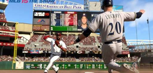 Screen grab from video game, MLB 15: The