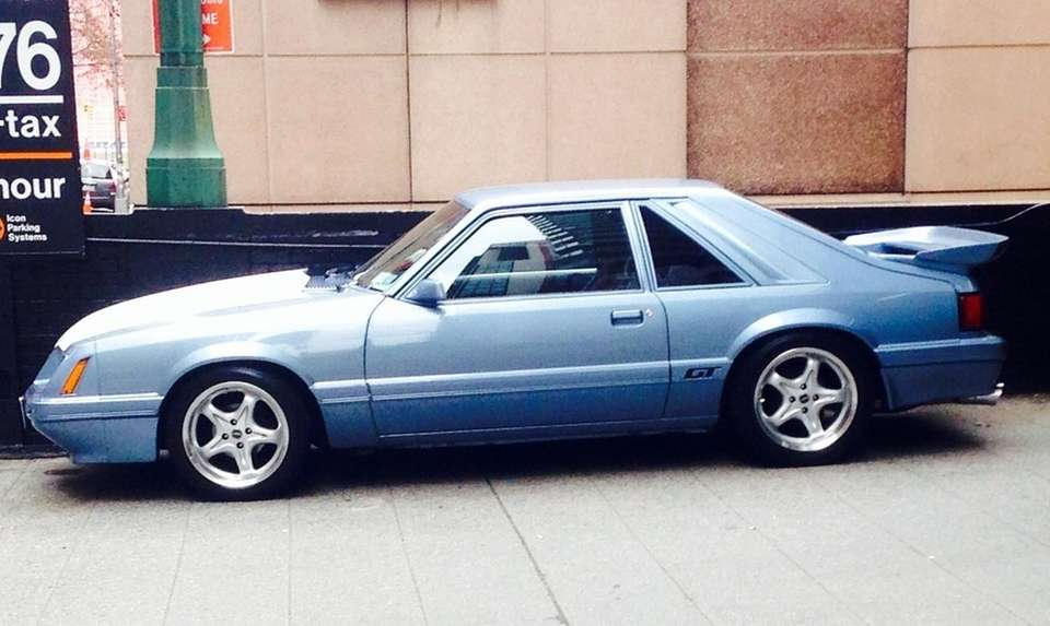 This 1986 Ford Mustang GT owned by Louis