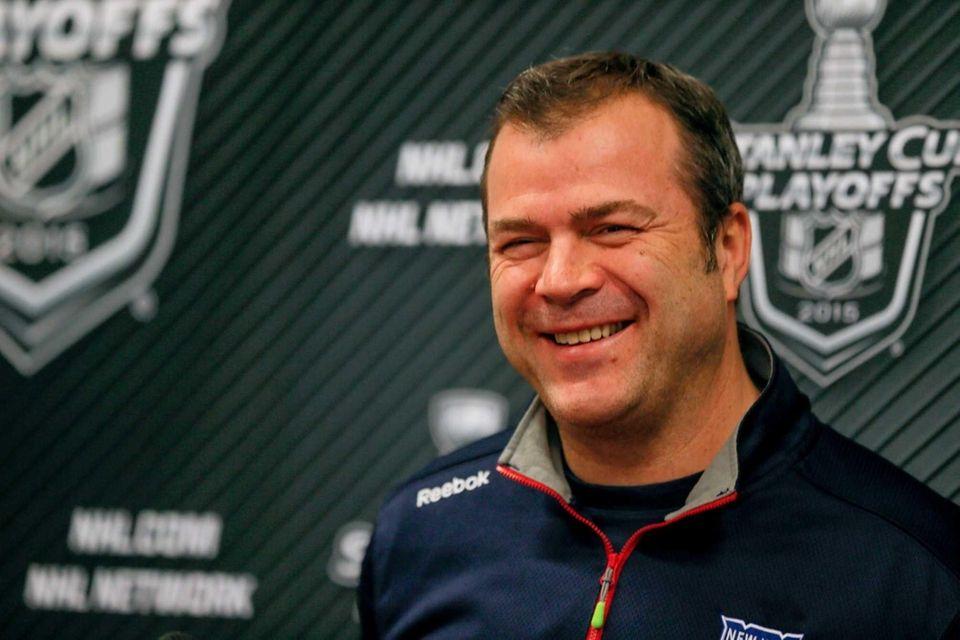 New York Rangers head coach Alain Vigneault talks