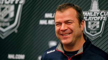 New York Rangers head coach Alain Vigneault talks