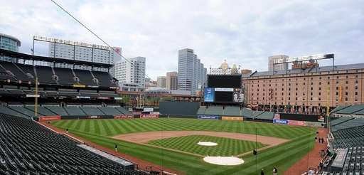 BALTIMORE, MD - APRIL 27: An empty Oriole