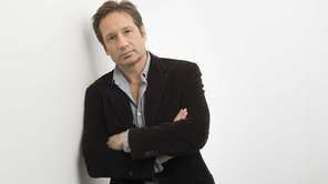 David Duchovny in New York City on Wednesday,