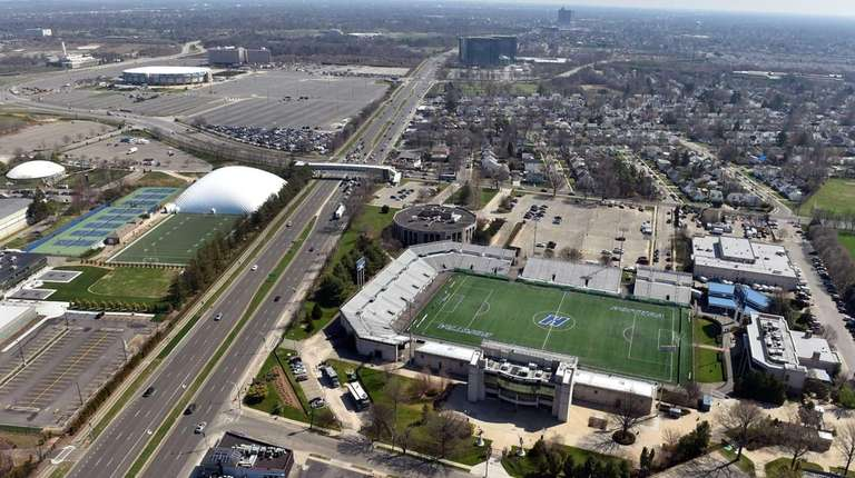 James M. Shuart Stadium and other parts of
