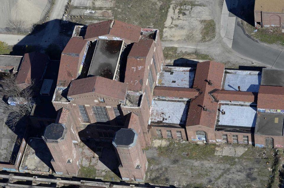 The former grounds of the Pilgrim Psychiatric Center