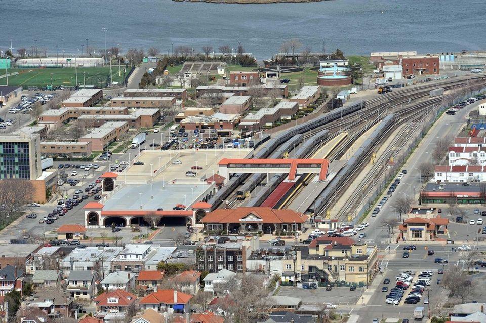 Aerial views of Nassau County taken on April