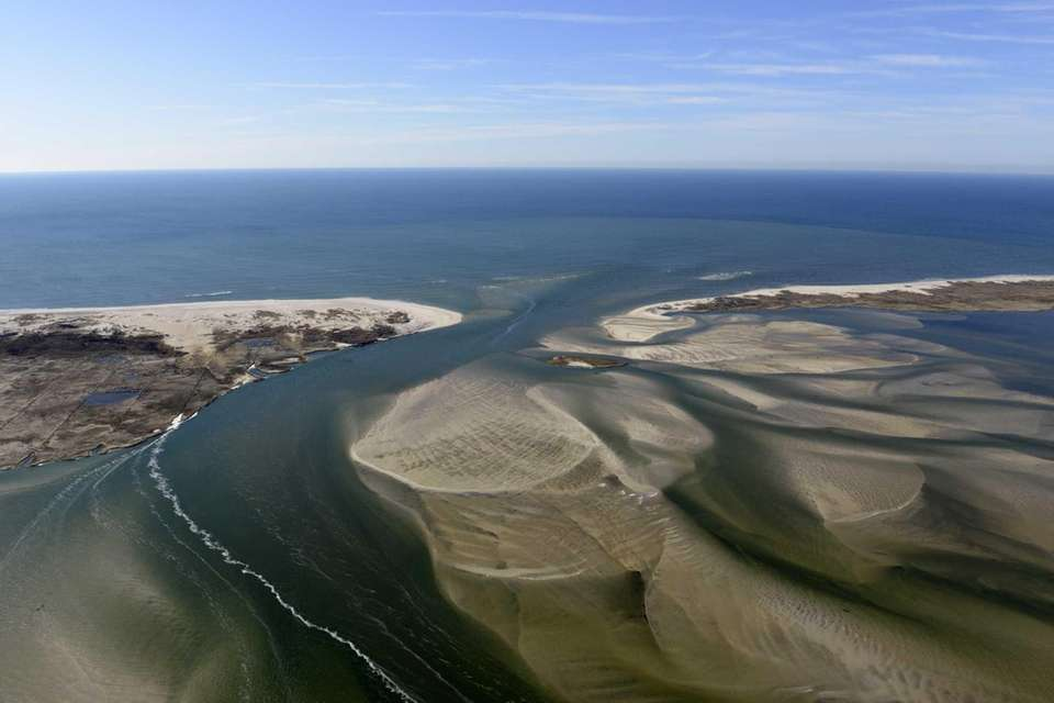 The breach at Old Inlet on Fire Island