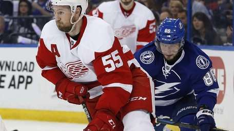 Nikita Kucherov #86 of the Tampa Bay Lightning