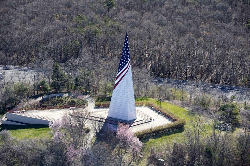 The Vietnam Veterans Memorial at Bald Hill in