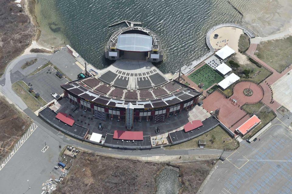 Aerial views of Nassau County taken April 19,