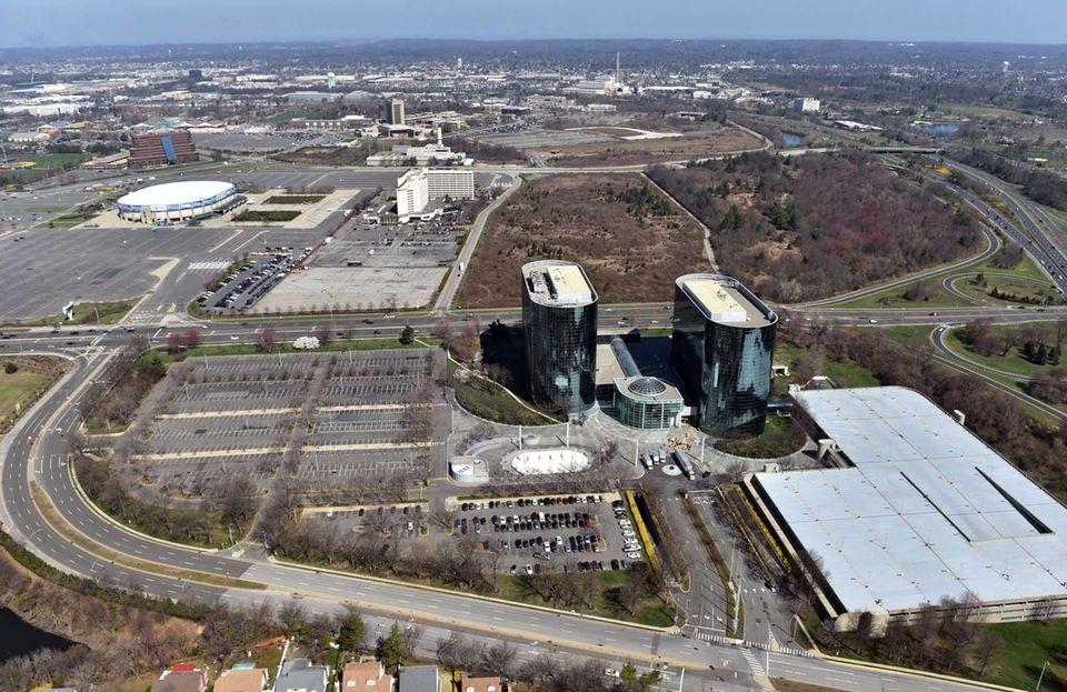 Aerial views of Nassau County taken April 18,