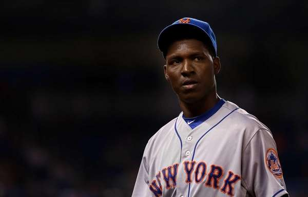 Rafael Montero of the New York Mets looks