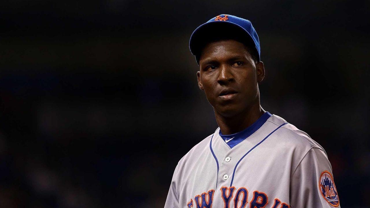 Rafael Montero of the New York Mets looks