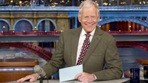 David Letterman says he was not consulted about