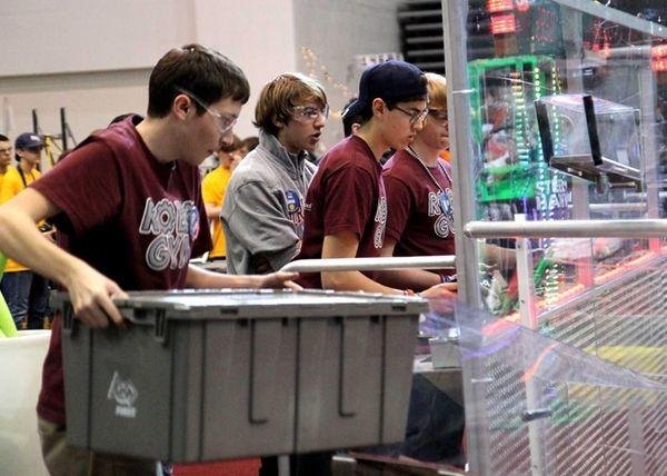 North Shore High School's robotics team was named