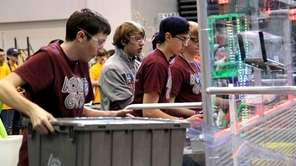 North Shore High School's robotics team was named
