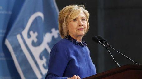 Hillary Rodham Clinton, a 2016 Democratic presidential contender,