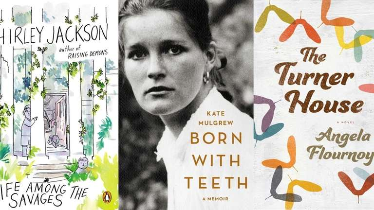 Books by Shirley Jackson, Kate Mulgrew and Angela